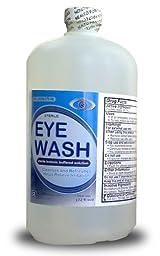 Eye Wash, 32 oz - 12 Bottles/Case