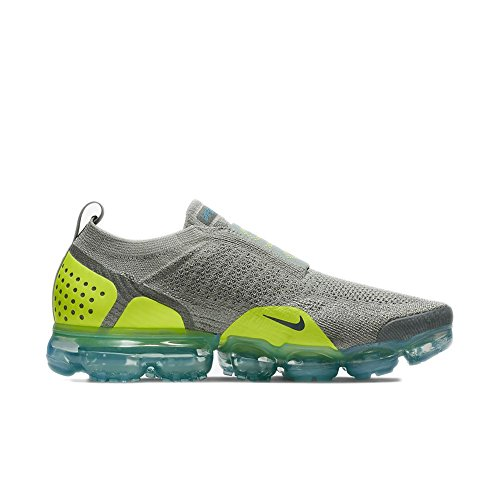 huge selection of 874e3 a1096 Nike Air Vapormax Flyknit Moc 2 Unisex Shoes Mica Green Volt-Neo Turquoise  ah7006