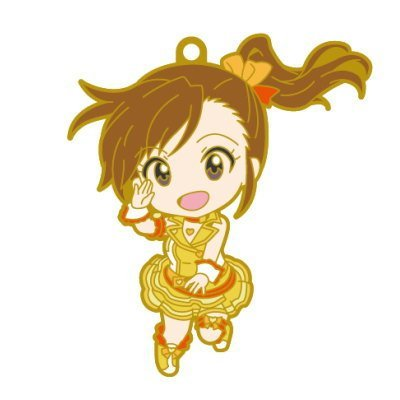 Nendoroid Plus rubber strap The Idolmaster One For All 765PRO ALLSTARS stage A [4. Mami Futami] (single)