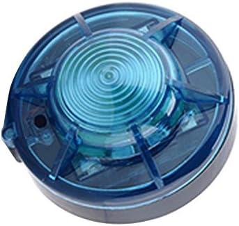 Roadside Flashing Flares Safety Warning Light Emergency LED Strobe Light with Magnetic Base Vehicle and Marine Amber