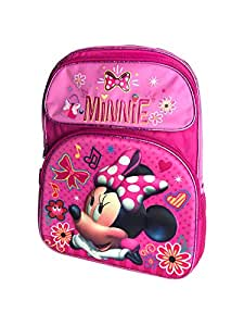 "Disney Minnie Mouse Blue 3D Pop-Up Backpack 16"""