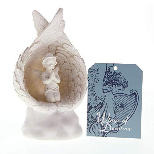 Angel Figurines Wholesale - 15058 Wholesale Light-up Praying Angel Figurine Figures Body Model Figurine