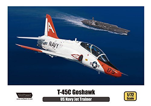 Wolfpack 1:72 US Navy Jet Trainer T-45 C Goshawk - Plastic Model Kit #WP17205