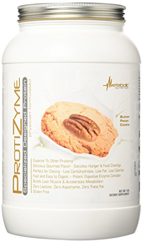 Metabolic Maintenance Nutrition Protizyme Supplement, Butter Pecan Cookie, 2 Pound Review