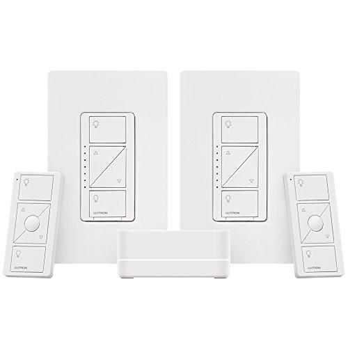 lutron p bdg pkg2w a caseta wireless smart lighting deluxe import it all. Black Bedroom Furniture Sets. Home Design Ideas