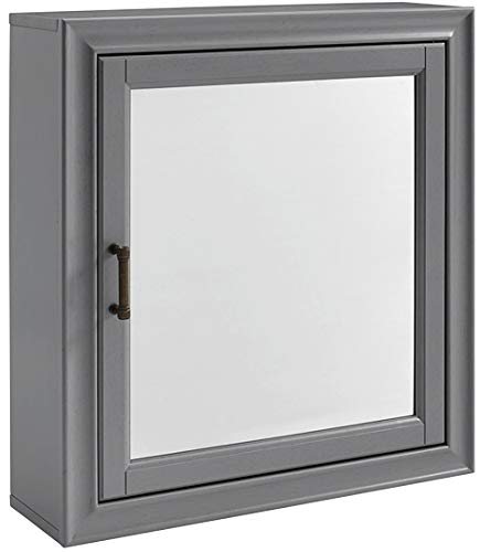Crosley Furniture Tara Bathroom Mirror Cabinet, Vintage -