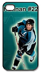 San Jose Sharks ScottHannan Customizable iphone 4/4s Case by icasepersonalized