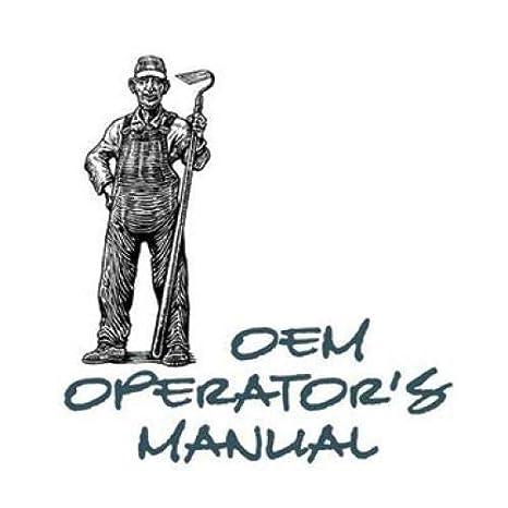 Operator S Manual 670 770 New John Deere