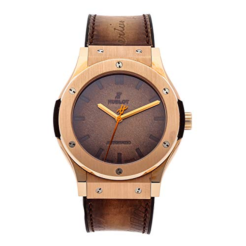 Hublot Classic Fusion Mechanical (Automatic) Brown Dial Mens Watch 511.OX.0500.VR.BER16 (Certified Pre-Owned)