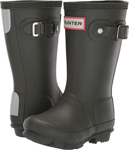 (Hunter Kids Unisex Original Kids' Rain Boot (Toddler/Little Kid) Dark Olive 8 M US Toddler)