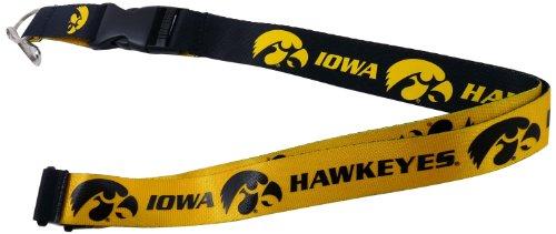 aminco NCAA Iowa Hawkeyes Reversible Lanyard from aminco