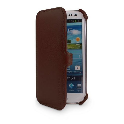Marware SXHB1030 C.E.O. Hybrid Case for Samsung Galaxy SIII - 1 Pack - Retail Packaging - - Ceo Leather Marware