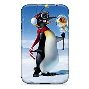 Galaxy High Quality Tpu Case/ Pleased With The Penguin LfOdvKC2292wfFHn Case Cover For Galaxy S4