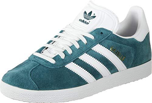adidas Herren Gazelle Gymnastikschuhe Mehrfarbig (Petnoc/Ftwbla/Ftwbla 0)