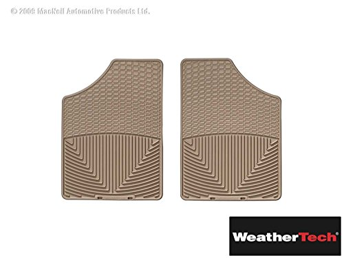 Brightt (WEA-BHH-574) All Weather Floor Mats Tan Front Front Only - Compatible With Sonata - 1999 2000 2001 2002 2003 2004 2005   99 00 01 02 03 04 05