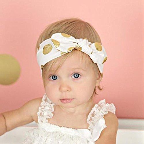 Bellecita Punto Blanco estampado en Caliente Rabbit Ears Cinta de Cabeza