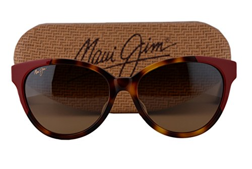 Maui Jim Sunshine Sunglasses Tortoise Red w/Polarized HCL Bronze Lens - Jennifer Sunglasses Aniston