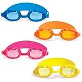 Poolmaster Advantage Junior Goggles 4 Pack (1 EA Color)
