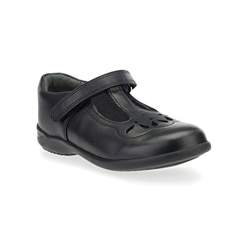 Poppy F School Startrite Shoe Girls 2 Black znRaxda