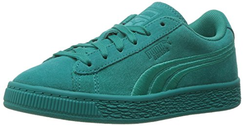 PUMA Unisex Suede Classic Badge Kids Sneaker Navigate 2 M US Little