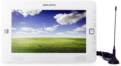 Televisor portátil 9 pulgadas Majestic batería recargable. TV TVC 12 V Profesional con Digital Terrestre, entrada micro SD Card y USB.: Amazon.es: Electrónica