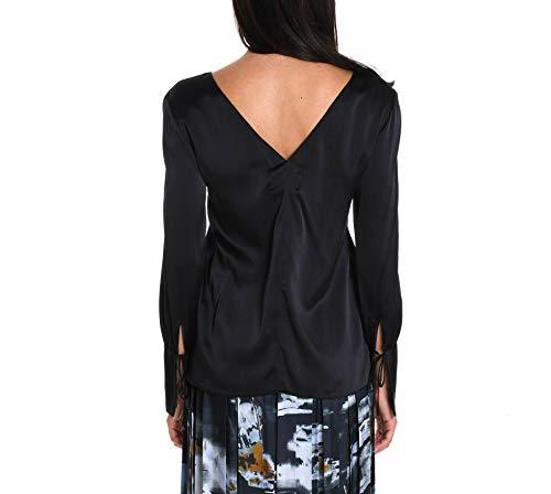 Femme Noir J2812123021 Blouse Soie JUCCA nxOwEZvnd