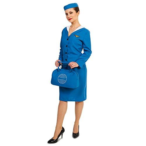 Retro Glam Airline Stewardess Adult -