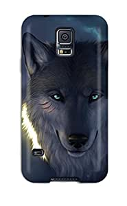 Perfect Fit TwzOtKS14396WbITD The Wolf Case For Galaxy - S5