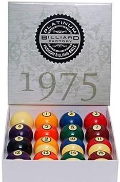 The Billiard Factory Fábrica de Billar – Premium – Juego de Bolas ...