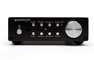 Grace Digital GDI-BTAR513 100 Watt Digital Integrated Stereo Amplifier with Built-In AptX Bluetooth Wireless Stereo Receiver from Grace Digital