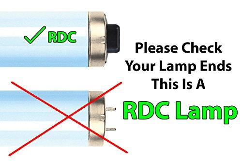 Brilliance Bronzer F73 HO 100W-120W 5.0% RDC Tanning Lamp (20) by Brilliance Advanced (Image #1)