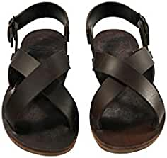 4db2b97a0408 Brown Pacific Leather Sandals for Women   Men - Handmade Leather Sandals