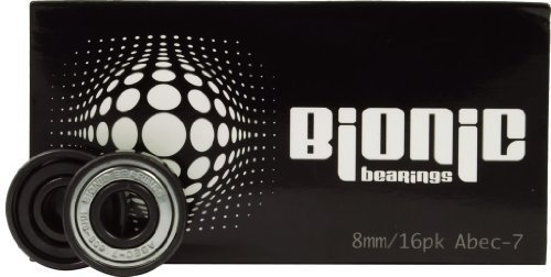 (Bionic Bearings - Bionic ABEC-7 Bearings - 8mm Bearings - 16 Pack)