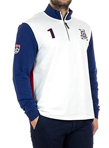 Polo Hackett Snow Multicolor Hombre XXL Blanco: Amazon.es: Ropa y ...