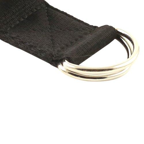 Fit Spirit 10ft Fitness Exercise Yoga Strap - Black