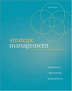 Introduction to operations and supply chain management global strategic management of technology and innovation fandeluxe Gallery