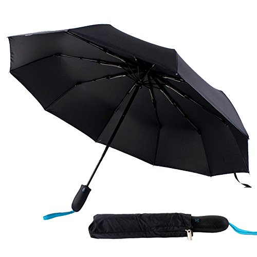 Price comparison product image Folding Travel Umbrella Automatic Open/Close UV Protection