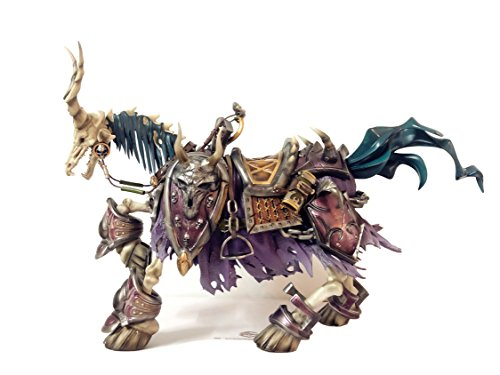 Baile Inc Skeletal Warhorse Figurine,WARCRAFT Mounts 1:6 Scale Action Figure,Undead Steed Sculpture,Home Décor Collectible Statue