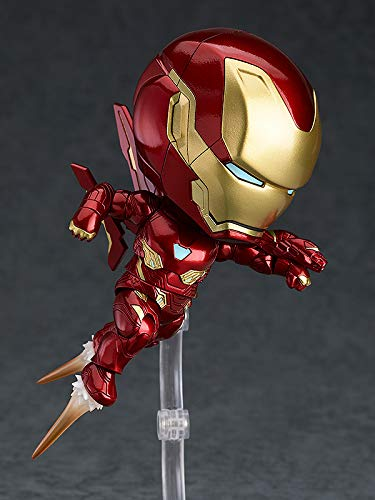 Good Smile Avengers Nendoroid Action Figure Infinity War Infinity Edition Iron Man Mark 50 Deluxe Version