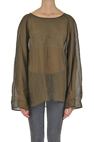 DRIES VAN NOTEN Women's Mcgltpc03049e Brown Cotton - Shop Dries Van Noten