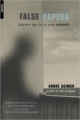 Andre aciman essays online
