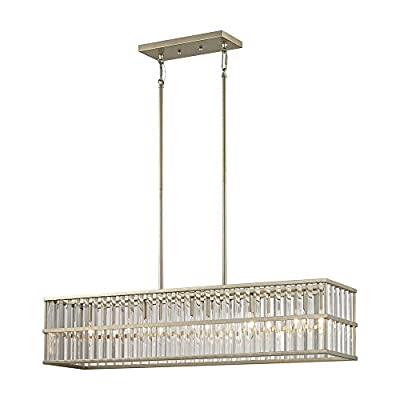 ELK Lighting 81096/5 Chandelier, Silver