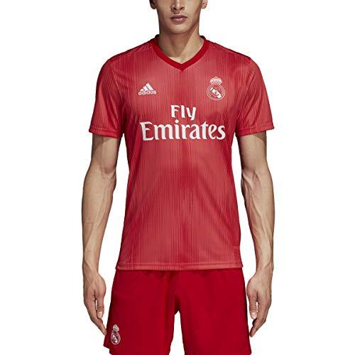 adidas Men's Real Madrid Home Pre-Match Training Soccer Jersey (Medium, ()