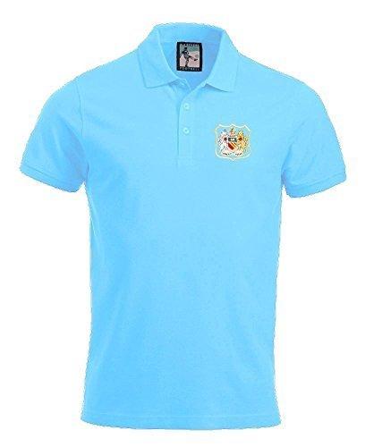 Old School Football Retro Manchester City Polo Fútbol Tallas S ...