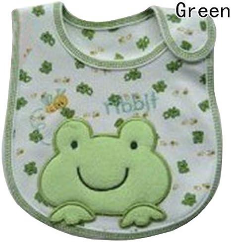 Macxy - 100% algodón Babero Infantil de la Saliva Toallas bebé recién Nacido Impermeable Baberos Desgaste de Dibujos Animados Accesorios de la Forma Animal [GR]: Amazon.es: Hogar