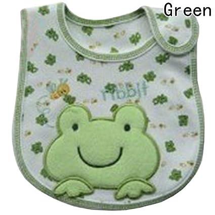 Macxy - 100% algodón Babero Infantil de la Saliva Toallas bebé recién Nacido Impermeable Baberos