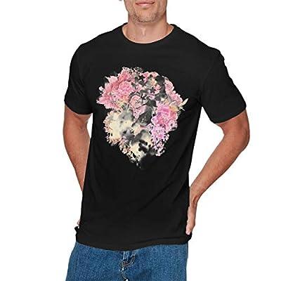 EMILY MORAN Mens Fashion The Chainsmokers T-Shirt Black