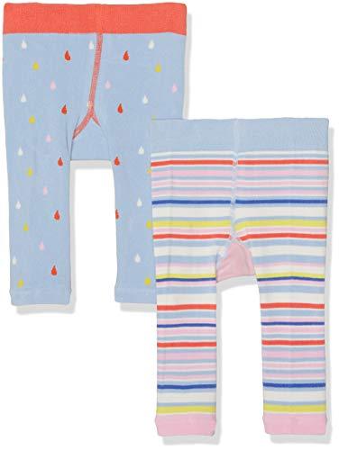 Joules Lively Leggings voor babymeisjes (pak van 2)