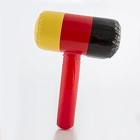Eurowebb martillo hinchable plástico bandera de Alemania ...