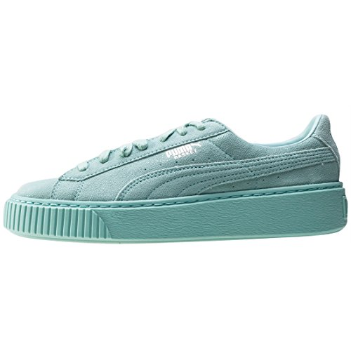 Blue Para Zapatillas Suede Mujer Aruba Puma Platform HwAqfnSxH0